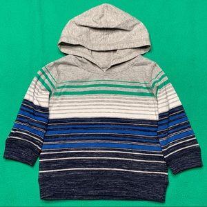 NWOT🔥 Striped Hooded Shirt